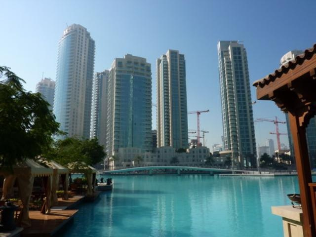 The Residences in downtown Dubai
